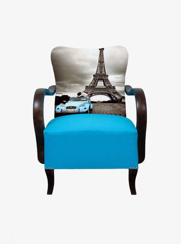 Art deco Párizs Fotel