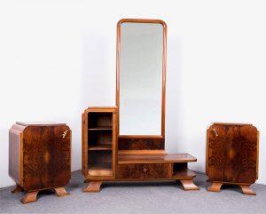 Art Deco hálószoba garnitúra