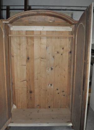 Neobarokk kétajtós szekrény