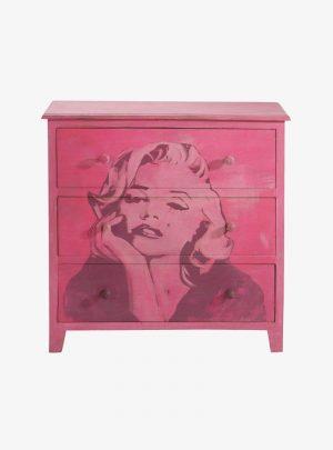 Pink Marilyn komód