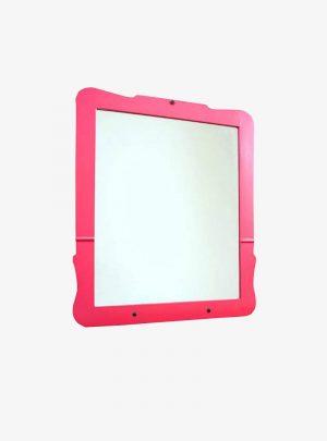 Antik keret új pink tükörrel