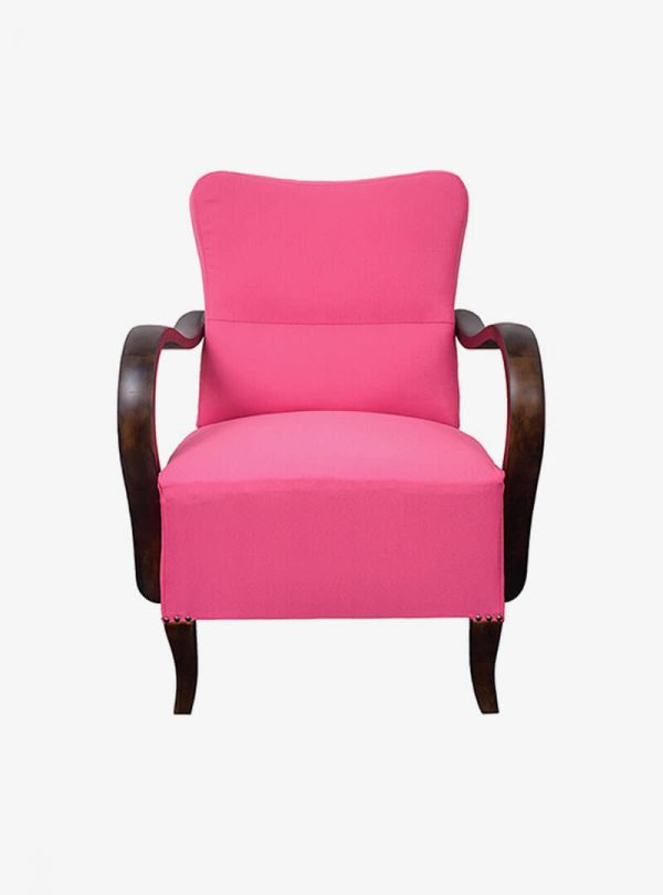 Art deco pink fotel