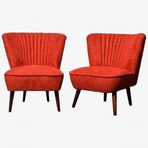 Piros Retro fotelek